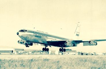 Boeing 707 – the first flight and it's possible connection to the MAX-8 and Covid-travel restrictions – free content